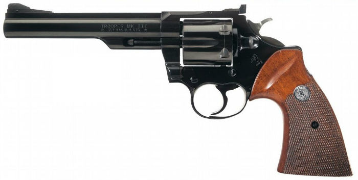Colt Mk. III Trooper Lawman