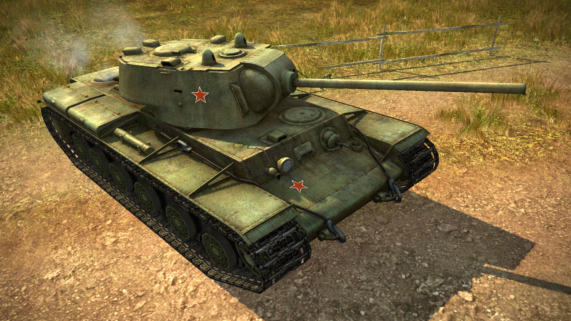 КВ-1С в компьютерной игре World of Tanks